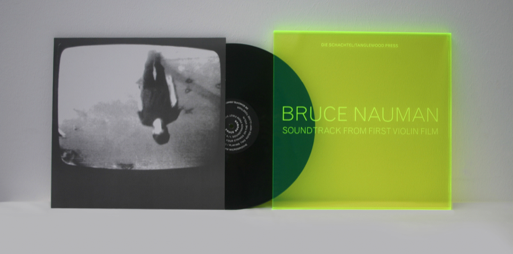 Bruce Nauman - Soundtrack from first violin film